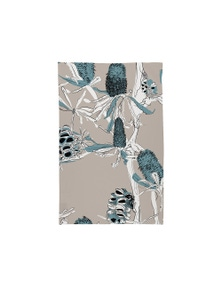 The Linen Press - Tea Towel Microfibre - Banksia Bottlebrush