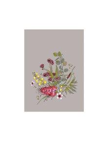 The Linen Press - Tea Towel Microfibre Native Floral Bunch