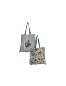 The Linen Press - Native Floral Shopper Bag