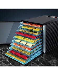 Devanti Food Dehydrator 10 Trays Fruit Dehydrators Commercial Beef Jerky Maker