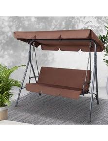 Outdoor Swing Chair Hammock 3 Seater Garden Canopy Bench Seat