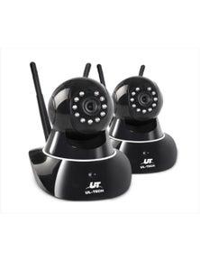 UL-tech Wireless IP Camera CCTV Security HD 1080P WIFI Cameras System 2MP X2