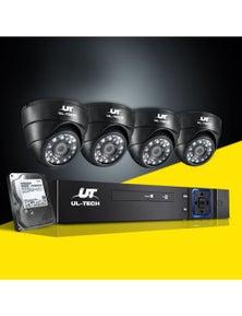 UL-tech CCTV Camera Security System 8CH DVR 1080P Outdoor Cameras 1TB Hard Drive