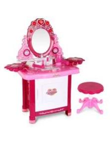 Keezi Kids Makeup Desk Play Set - Pink