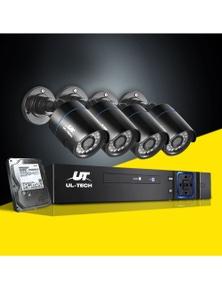 UL-tech CCTV Camera Security System 8CH DVR 1080P 2MP HD with 1TB Hard Drive