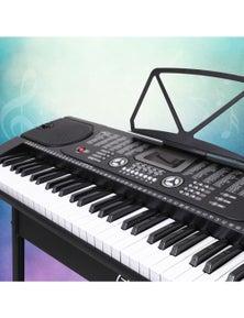Alpha Digital Piano Keyboard Electronic Keyboard Electric Keyboard 61 Key Black