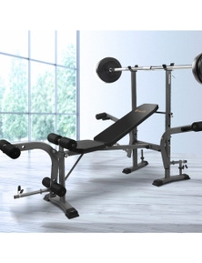 Everfit 7in1 Weight Bench Press Multi-Station Home Gym