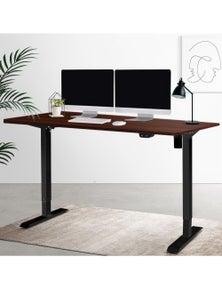 Artiss Standing Desk Sit Stand Up Table Riser - w/ Black Frame Roskos I