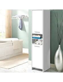 Artiss 185cm Bathroom Cabinet Tallboy Toilet Storage Laundry Cupboard