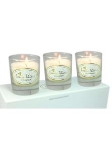 Laguiole Maison Louis Thiers 3-Piece Candle Set