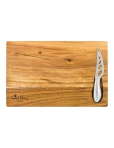 Laguiole By Louis Thiers Organique Cheese Board With Knife