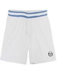Sergio Tacchini Set Tennis Sports Shorts Kids Children's Junior - White/Navy