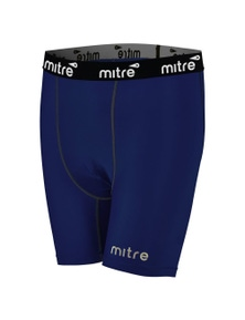 Mitre Neutron Compression Short Size Sy (Aged 5-7) Navy