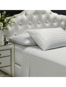 Royal Comfort 1200 Thread Count Damask Stripe Cotton Blend Sheet Set