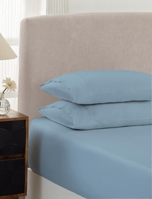 Royal Comfort 1500 TC Cotton Rich Fitted sheet 3 PC Set Queen-White