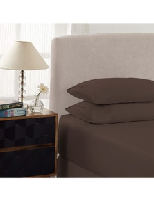 Royal Comfort 1500TC Cotton Rich Fitted Sheet Set