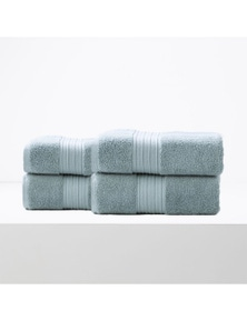 Renee Taylor Brentwood Quick Dry Bath Sheet 4pk