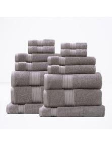 Renee Taylor Brentwood 650 GSM Low Twist Towel 14 Piece