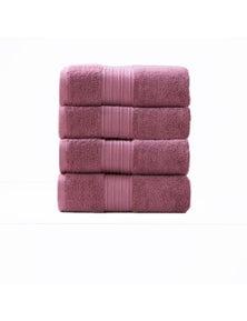 Renee Taylor Brentwood Low Twist Bath Towel 4pk