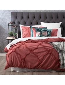 Renee Taylor Moroccan Cotton Chenille Euro PillowCase