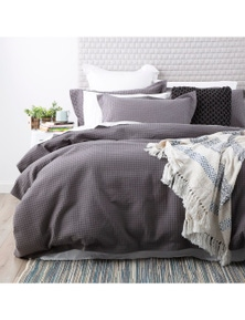 Park Avenue Perennial Cotton Waffle Quilt Cover set