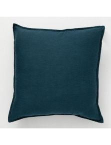 Renee Taylor Cavallo Stone Washed 100% Linen Cushion 50x50cm