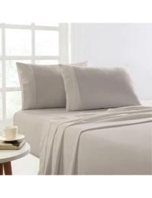 Park Avenue 175 GSM Egyptian Cotton Flannelette  Plain dyed Sheet Set
