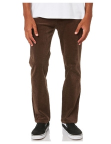 Swell Men's Keenan 5 Pkt Cord Pant Cotton Fitted Corduroy