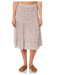 The Hidden Way Women's Coral Bay Skirt Fitted Rayon