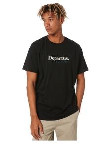 Depactus Men's Parallel Cotton Crew Neck Tee