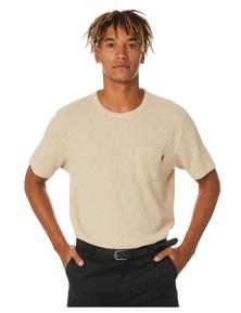 No News Men's Hale Waffle Pocket Tee Short Sleeve Cotton