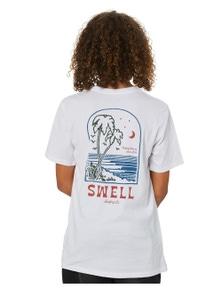 Swell Boys Moon Tide Short Sleeve Cotton Tee