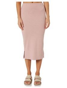 Swell Womens Oasis Rib Jersey Skirt