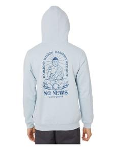 No News Men's Mind Quiet Pop Hood Cotton Polyester