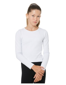 Swell Girls Girls Long Sleeve Cropped Tee - Teens