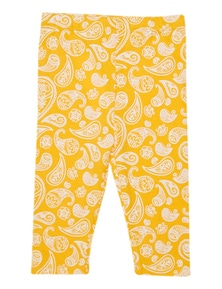 Pumpkin Patch Kids Baby Paisley Cotton Jersey Legging