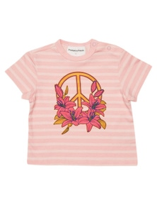 Pumpkin Patch Kids Baby Peace Short Sleeve Jersey Tee