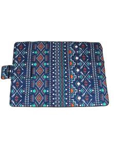 Good Vibes Aztec Pvc Backed Printed Picnic Rug