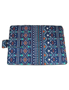 Good Vibes Aztec Pvc Backed Printed Picnic Rug