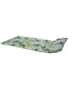 Good Vibes Moon Palm Beach Towel With Inflatable Pillow