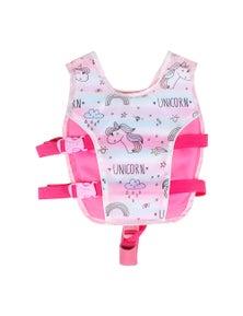 Good Vibes Unicorn 3-5 Years Kids Swim Vest With Anti Rise Strap