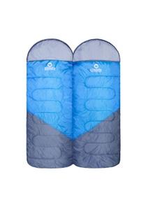 Wildtrak GASGOYNE HOODED TWIN SLEEPING BAGS 5 TO 10C