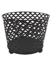 Wildtrak OUTDOOR METAL FIRE BOWL ROUND BLACK FINISH