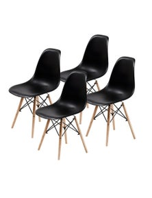 La Bella High Quality PP Eames DSW Dining Chair (4 Pcs)