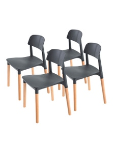 La Bella Belloch Stackable Dining Chairs (4 Pcs)