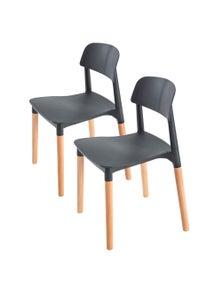 La Bella Belloch Stackable Dining Chairs (2 Pcs)