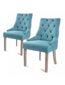La Bella 2X French Provincial Oak Leg Chair