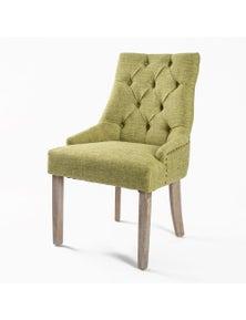 La Bella 1X French Provincial Oak Leg Chair