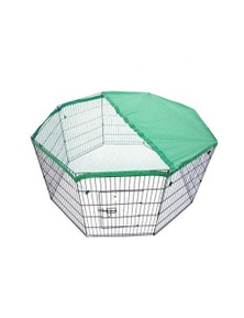 """Paw Mate 8 Panel Foldable Pet Playpen 42"""" w/ Cover"""