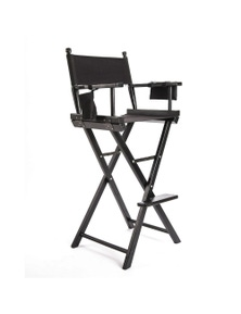 La Bella Tall Director Chair - Dark Humor